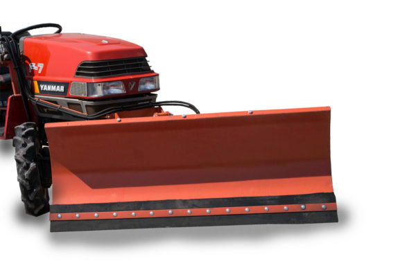 Snow blade for compact tractor