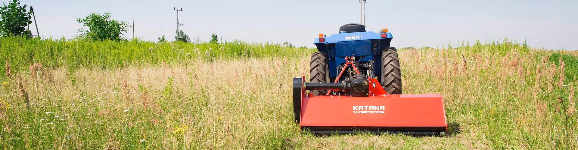 KATANA flail mower for compact tractor