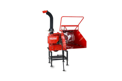 Heavy duty wood chippers for compact tractor