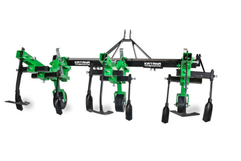 Ridging plough for compact tractors