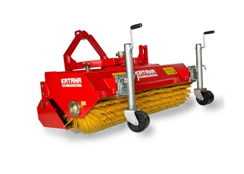 Sweeper for tractor